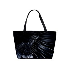 Fractal Mathematics Abstract Shoulder Handbags by Amaryn4rt