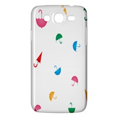 Umbrella Green Orange Red Blue Pink Water Rain Samsung Galaxy Mega 5 8 I9152 Hardshell Case  by Alisyart