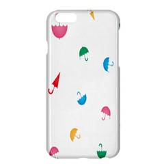 Umbrella Green Orange Red Blue Pink Water Rain Apple Iphone 6 Plus/6s Plus Hardshell Case by Alisyart