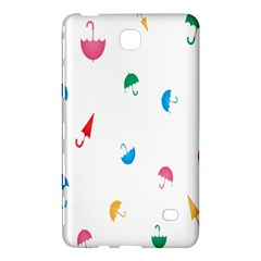Umbrella Green Orange Red Blue Pink Water Rain Samsung Galaxy Tab 4 (8 ) Hardshell Case