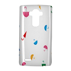 Umbrella Green Orange Red Blue Pink Water Rain Lg G4 Hardshell Case by Alisyart