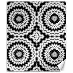 Pattern Tile Seamless Design Canvas 8  X 10  by Amaryn4rt