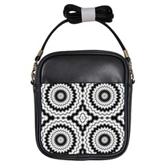 Pattern Tile Seamless Design Girls Sling Bags by Amaryn4rt