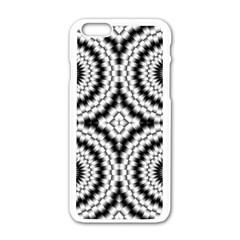Pattern Tile Seamless Design Apple Iphone 6/6s White Enamel Case by Amaryn4rt