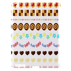 Sunflower Plaid Candy Star Cocolate Love Heart Apple Ipad 3/4 Hardshell Case (compatible With Smart Cover)