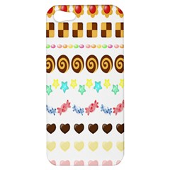 Sunflower Plaid Candy Star Cocolate Love Heart Apple Iphone 5 Hardshell Case by Alisyart