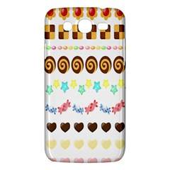 Sunflower Plaid Candy Star Cocolate Love Heart Samsung Galaxy Mega 5 8 I9152 Hardshell Case