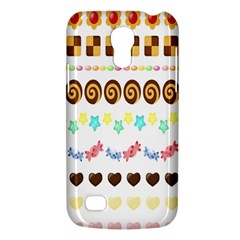 Sunflower Plaid Candy Star Cocolate Love Heart Galaxy S4 Mini