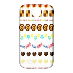Sunflower Plaid Candy Star Cocolate Love Heart Samsung Galaxy S4 Classic Hardshell Case (pc+silicone)