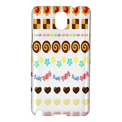 Sunflower Plaid Candy Star Cocolate Love Heart Samsung Galaxy Note 3 N9005 Hardshell Case