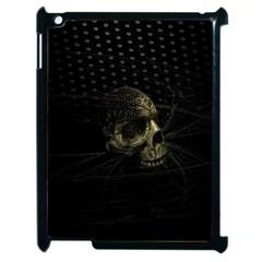 Skull Fantasy Dark Surreal Apple Ipad 2 Case (black) by Amaryn4rt