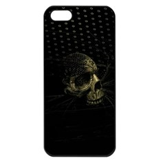 Skull Fantasy Dark Surreal Apple Iphone 5 Seamless Case (black) by Amaryn4rt