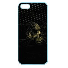 Skull Fantasy Dark Surreal Apple Seamless Iphone 5 Case (color) by Amaryn4rt