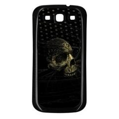 Skull Fantasy Dark Surreal Samsung Galaxy S3 Back Case (black) by Amaryn4rt