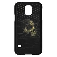 Skull Fantasy Dark Surreal Samsung Galaxy S5 Case (black) by Amaryn4rt