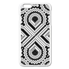 Pattern Tile Seamless Design Apple iPhone 6 Plus/6S Plus Enamel White Case by Amaryn4rt