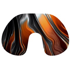 Fractal Structure Mathematic Travel Neck Pillows by Amaryn4rt