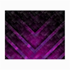 Purple Background Wallpaper Motif Design Small Glasses Cloth by Amaryn4rt