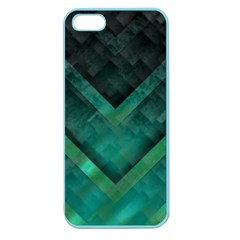 Green Background Wallpaper Motif Design Apple Seamless Iphone 5 Case (color) by Amaryn4rt