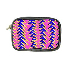 Triangle Pink Blue Coin Purse