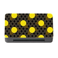 Sunflower Yellow Memory Card Reader With Cf by Alisyart