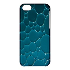 Water Bubble Blue Apple Iphone 5c Hardshell Case by Alisyart