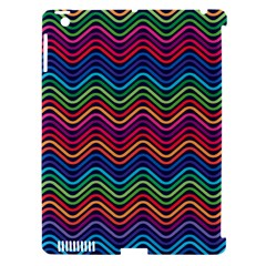 Wave Chevron Rainbow Color Apple Ipad 3/4 Hardshell Case (compatible With Smart Cover) by Alisyart