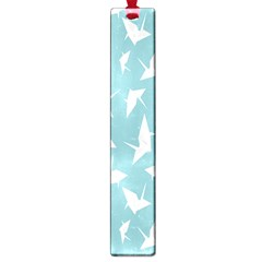 Origamim Paper Bird Blue Fly Large Book Marks by Alisyart