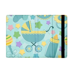 Baby Stroller Star Blue Apple Ipad Mini Flip Case by Alisyart
