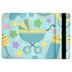 Baby Stroller Star Blue Ipad Air 2 Flip by Alisyart