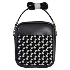 Butterfly Black Girls Sling Bags by Alisyart
