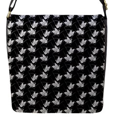 Butterfly Black Flap Messenger Bag (s) by Alisyart