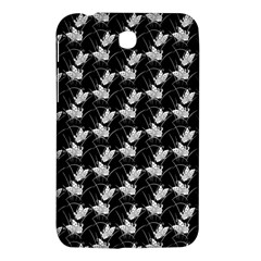 Butterfly Black Samsung Galaxy Tab 3 (7 ) P3200 Hardshell Case  by Alisyart