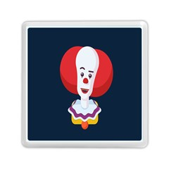 Clown Face Red Yellow Feat Mask Kids Memory Card Reader (square)  by Alisyart