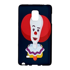 Clown Face Red Yellow Feat Mask Kids Galaxy Note Edge by Alisyart