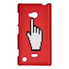 Cursor Index Finger White Red Nokia Lumia 720 by Alisyart