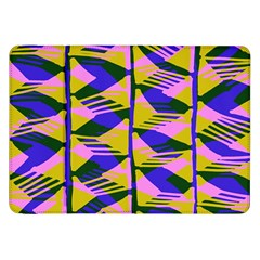 Crazy Zig Zags Blue Yellow Samsung Galaxy Tab 8 9  P7300 Flip Case by Alisyart