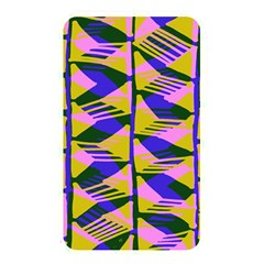Crazy Zig Zags Blue Yellow Memory Card Reader by Alisyart