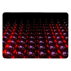 Digital Balls Lights Purple Red Samsung Galaxy Tab 8 9  P7300 Flip Case by Alisyart
