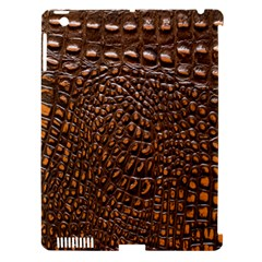 Crocodile Skin Apple Ipad 3/4 Hardshell Case (compatible With Smart Cover) by Alisyart