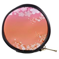 Flower Season Pink Purple Red Mini Makeup Bags by Alisyart