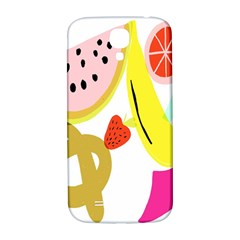 Fruit Watermelon Strawberry Banana Orange Shoes Lime Samsung Galaxy S4 I9500/i9505  Hardshell Back Case by Alisyart