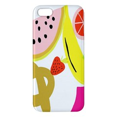 Fruit Watermelon Strawberry Banana Orange Shoes Lime Iphone 5s/ Se Premium Hardshell Case by Alisyart