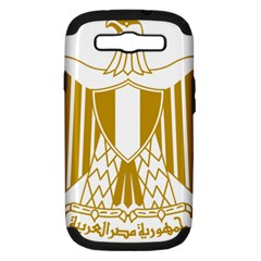 Coat Of Arms Of Egypt Samsung Galaxy S Iii Hardshell Case (pc+silicone) by abbeyz71