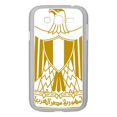 Coat of Arms of Egypt Samsung Galaxy Grand DUOS I9082 Case (White) by abbeyz71