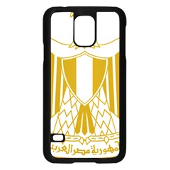 Coat Of Arms Of Egypt Samsung Galaxy S5 Case (black)