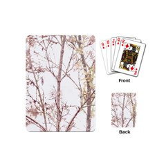 Textured Nature Print Playing Cards (mini)  by dflcprints