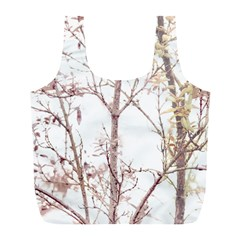Textured Nature Print Full Print Recycle Bags (l)  by dflcprints