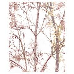 Textured Nature Print Drawstring Bag (small) by dflcprints
