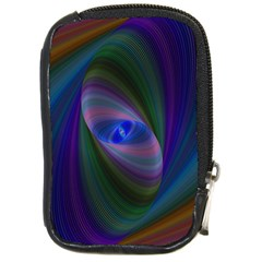 Ellipse Fractal Computer Generated Compact Camera Cases by Amaryn4rt